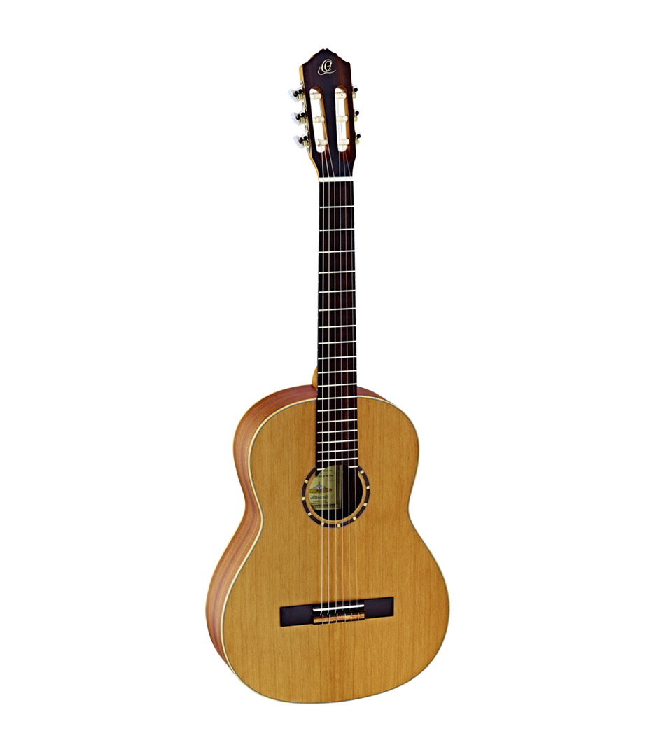 Ortega - R122 4 4 Family Classic Guitar Cedar Top Mahogant