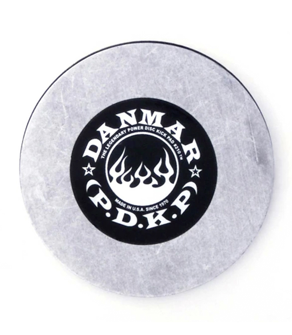 DANMAR - METAL KICK BASS DRUM DISC Made From Cold Rolled Al