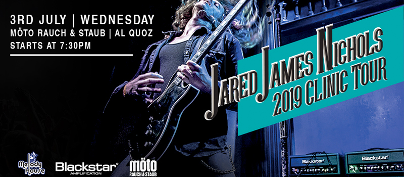 Jared James Nichols Guitar Clinic | July 3rd 2019 - Melody House