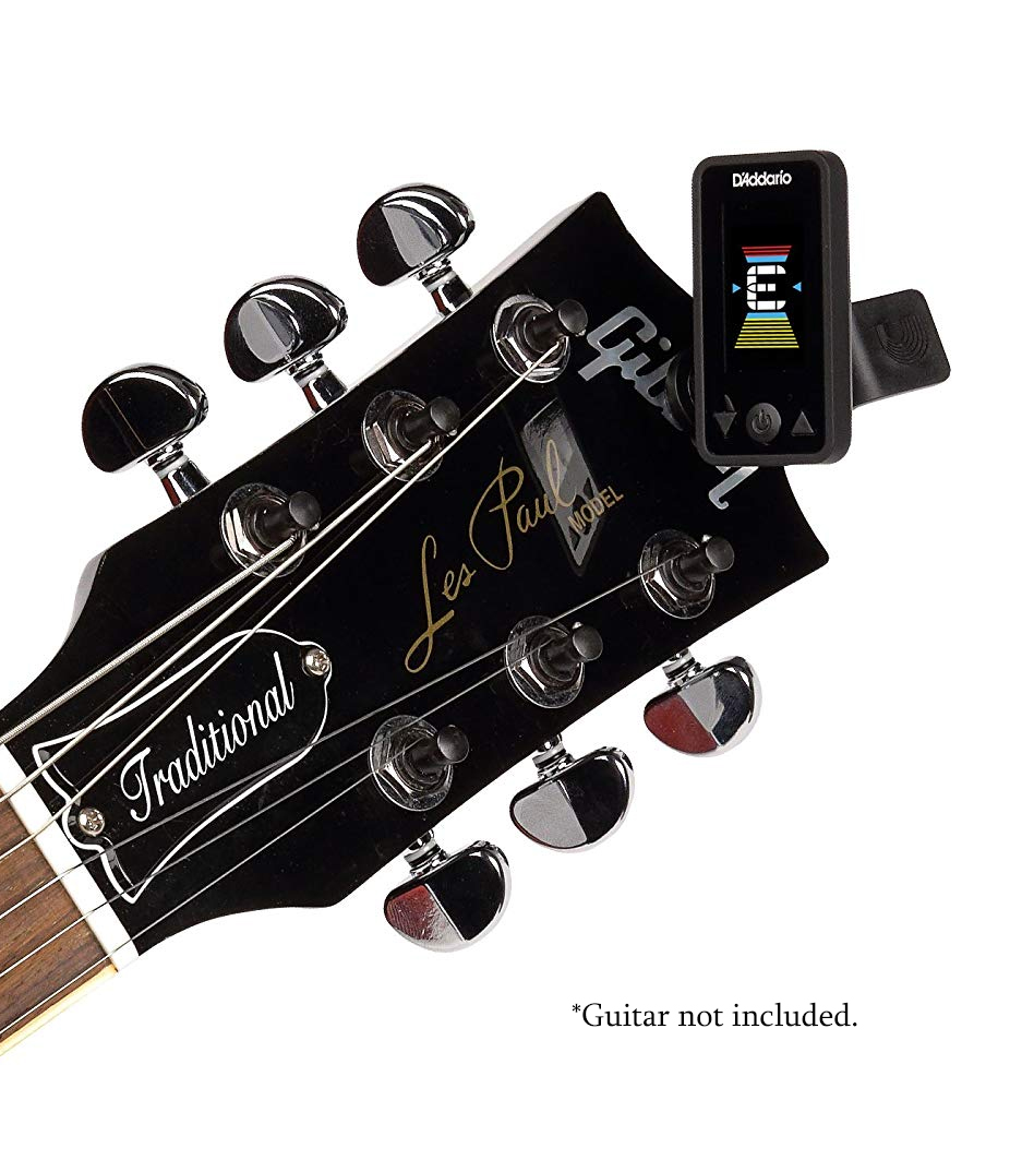 D'Addario - Eclipse Clip On Tuner Black Colour - Melody House