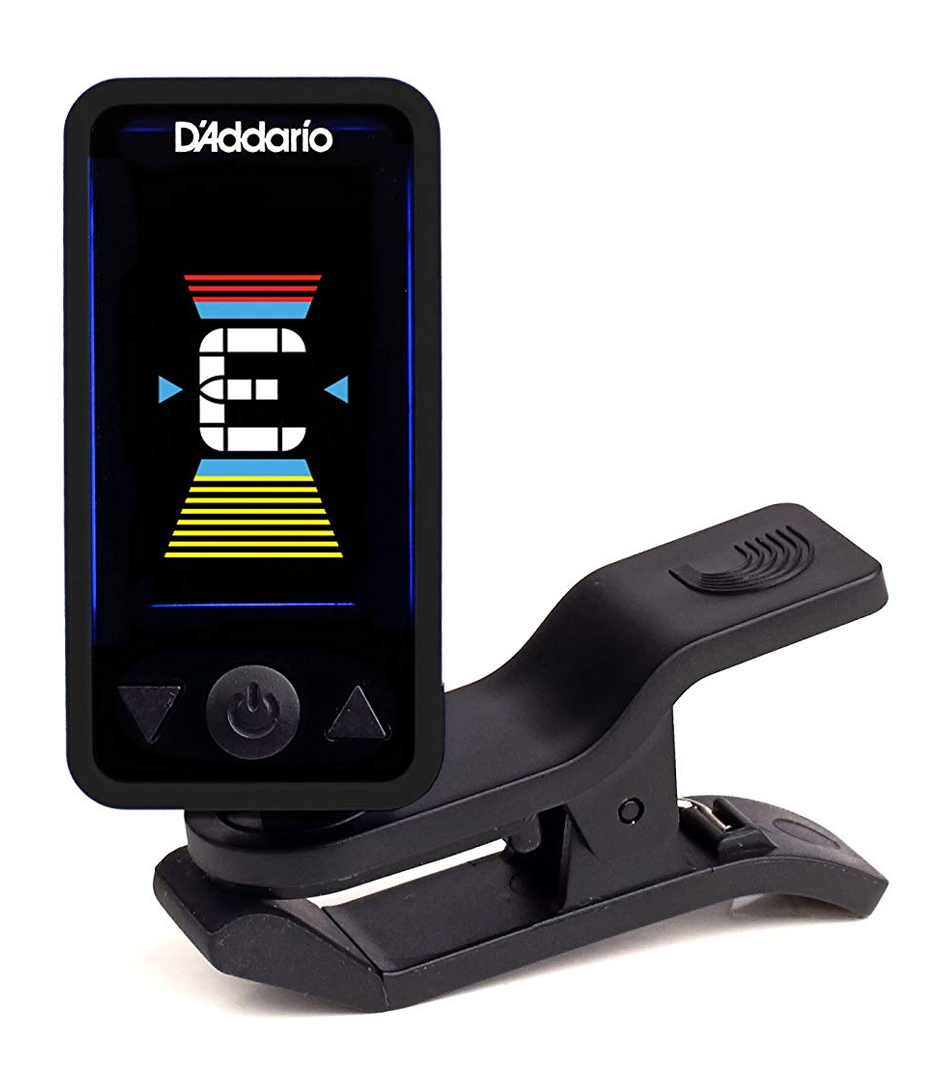 D'Addario - Eclipse Clip On Tuner Black Colour