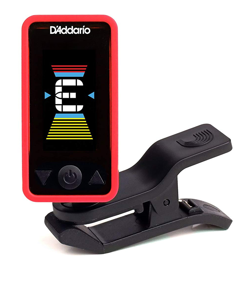 D'Addario - Eclipse Clip On Tuner Red Colour