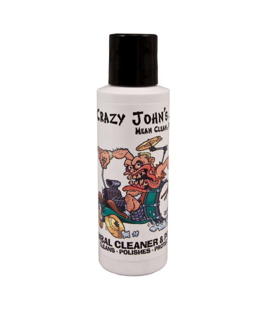 Crazy John - CJCP Cymbal Cleaner Polish 4 OZ - Melody House Musical Instruments