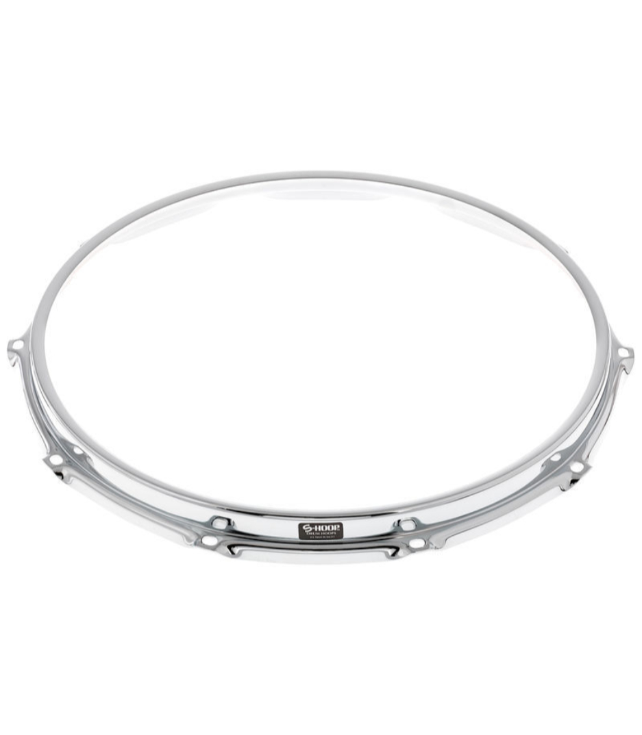 S-Hoop - SH148 14 8 Hole Chrome Steel S Hoop - Melody House Musical Instruments