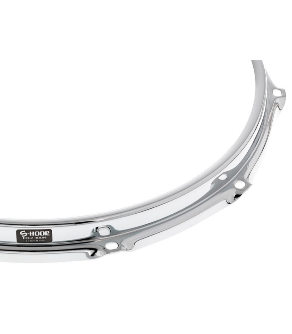 Melody House Musical Instruments Store - SH148 14 8 Hole Chrome Steel S Hoop