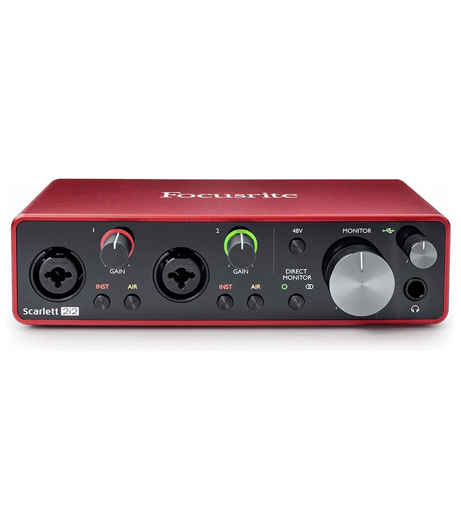 Focusrite - Scarlet 2i2 3rd Gen Scarlett 2i2 3rd Gen USB Audio