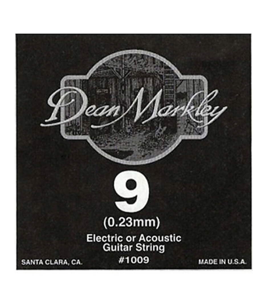 Dean Markley - 1009 009 Plain Steel Single - Melody House Musical Instruments