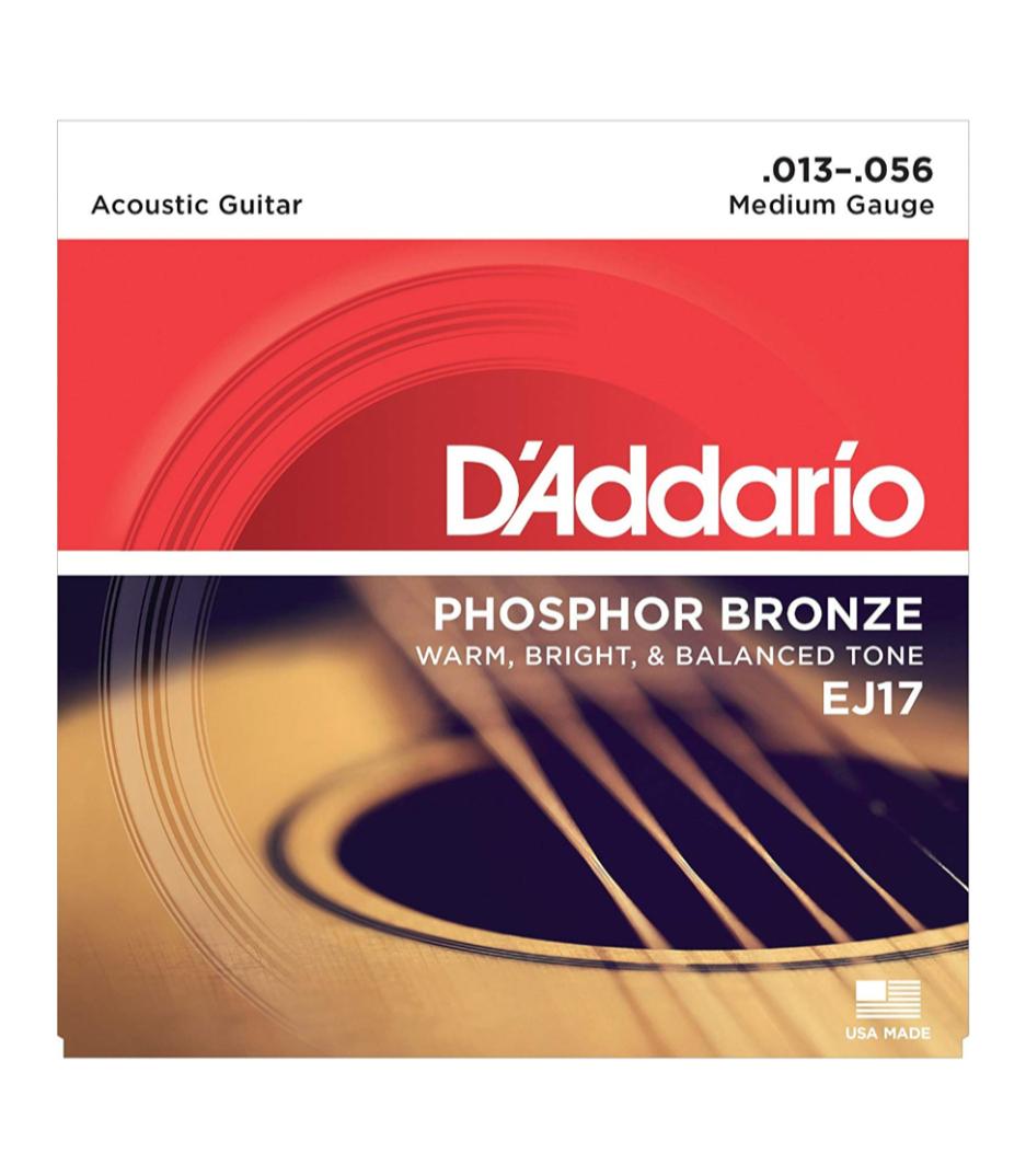buy d'addario phosphor bronze acoustic guitar strings 13 56
