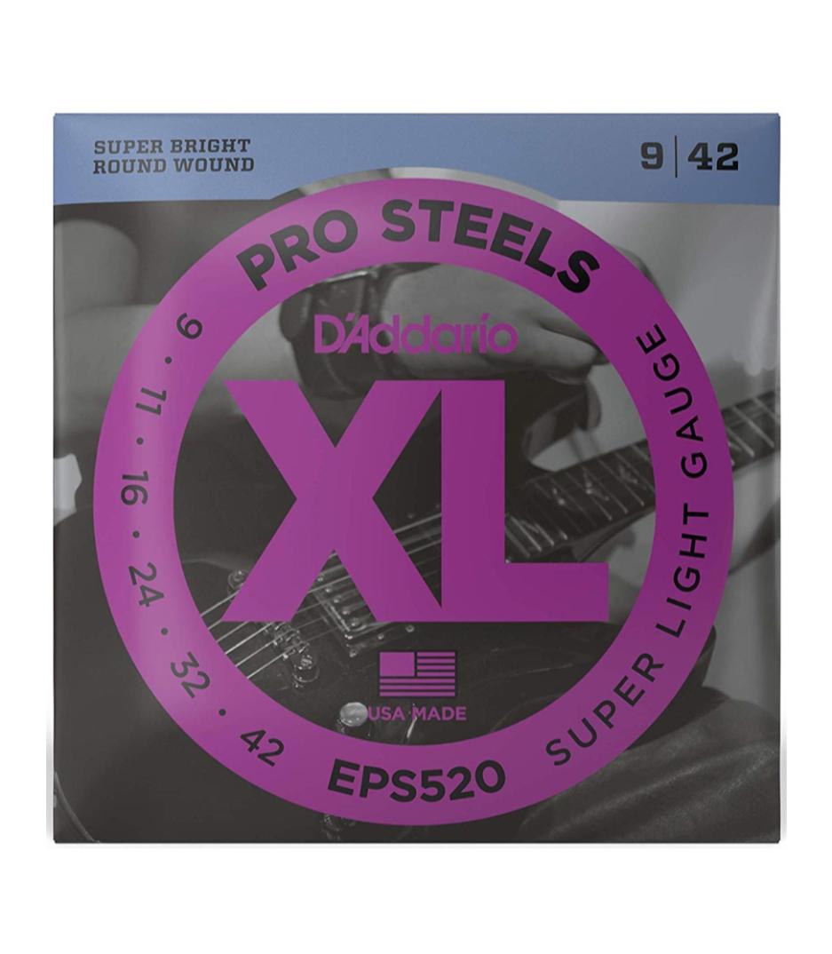 D'Addario - EPS520SET ELEC GTR PROST SUP LITE