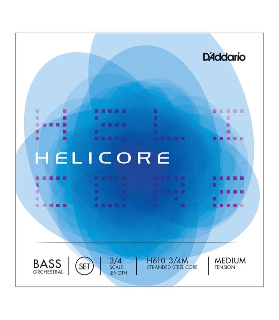 Buy D'Addario - HELIC ORCH BASS SET 3 4 MED