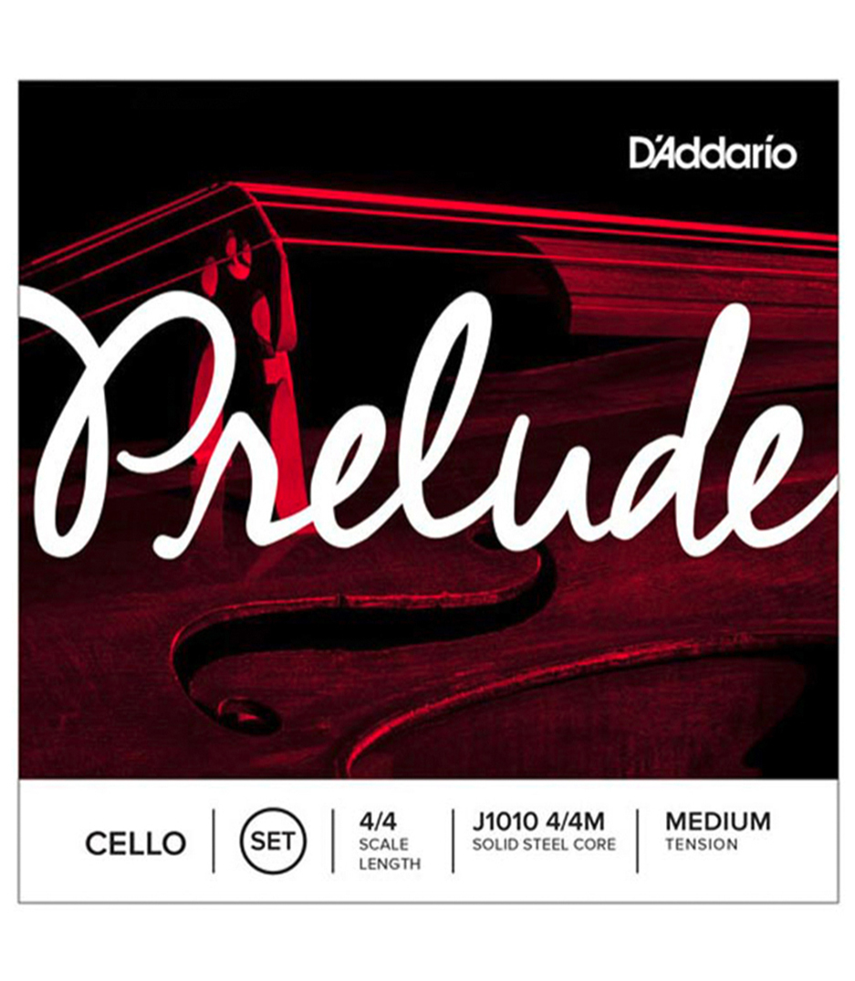 buy d'addario prelude cello string set 4 4 scale medium tension