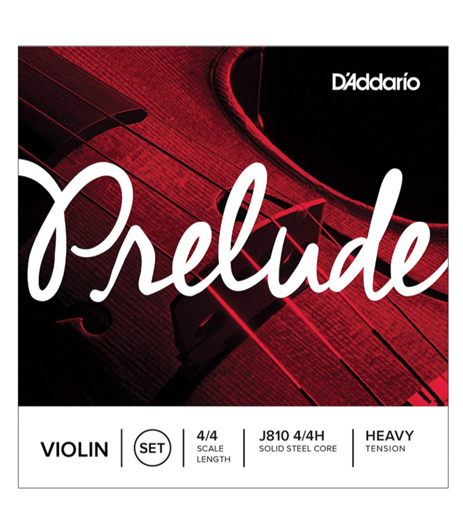 buy d'addario prelude violin string set 4 4 scale