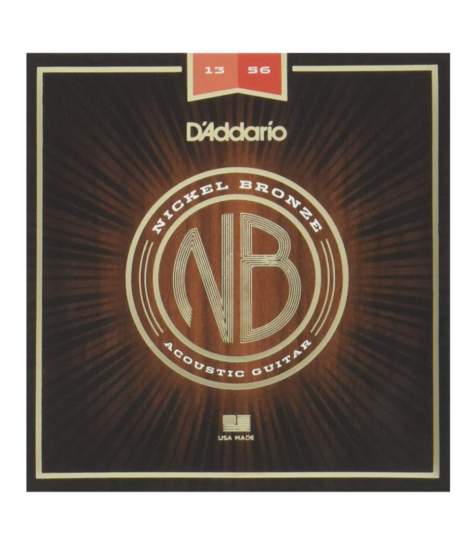 Buy D'Addario - Nickel Bronze Acoustic Guitar Strings Medium 13 56