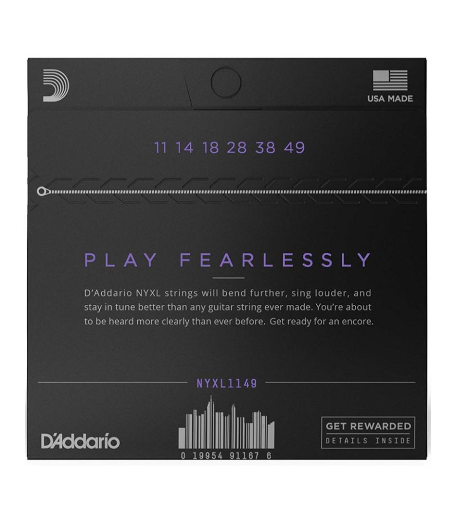 D'Addario - NYXL1149 - Melody House Musical Instruments