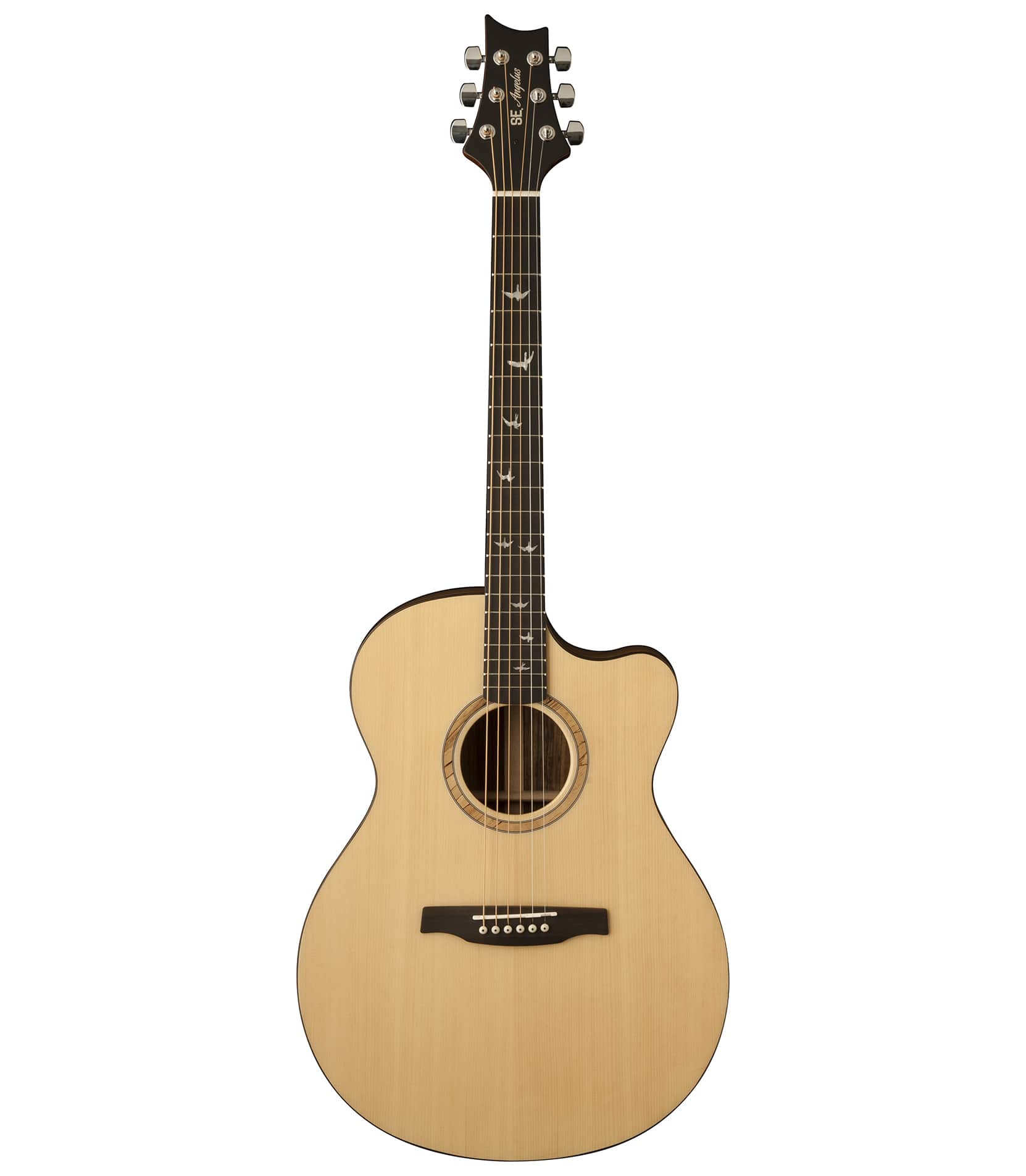 Buy prs SE Angelus Alex Lifeson Acoustic Guitar Natural Melody House