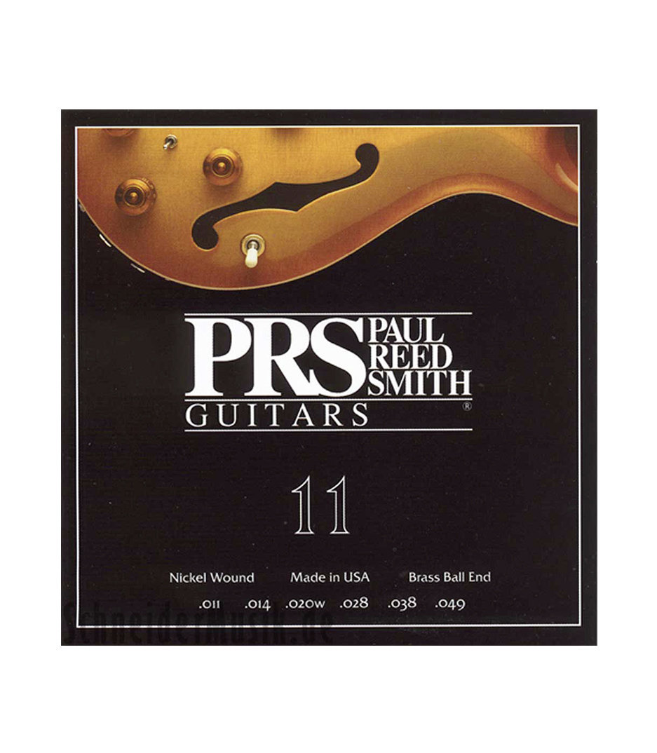 PRS - Electric Guitar Strings Nickel Wound 11 49 Gauge