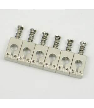 SE Tremolo Saddles 6 Nickel