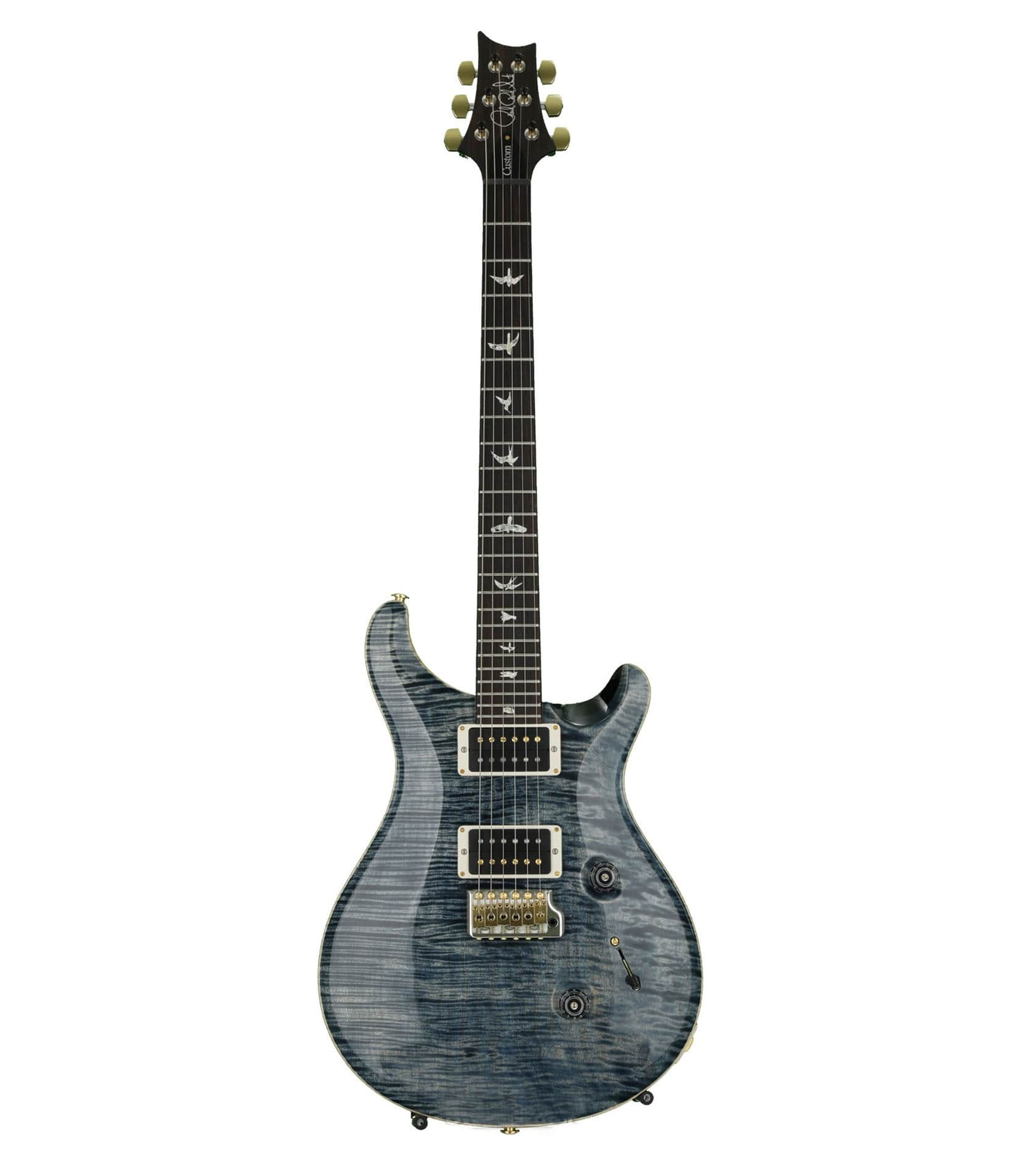 Buy prs Custom 24 Non 10 Top Guitar Faded Whale Blue Melody House
