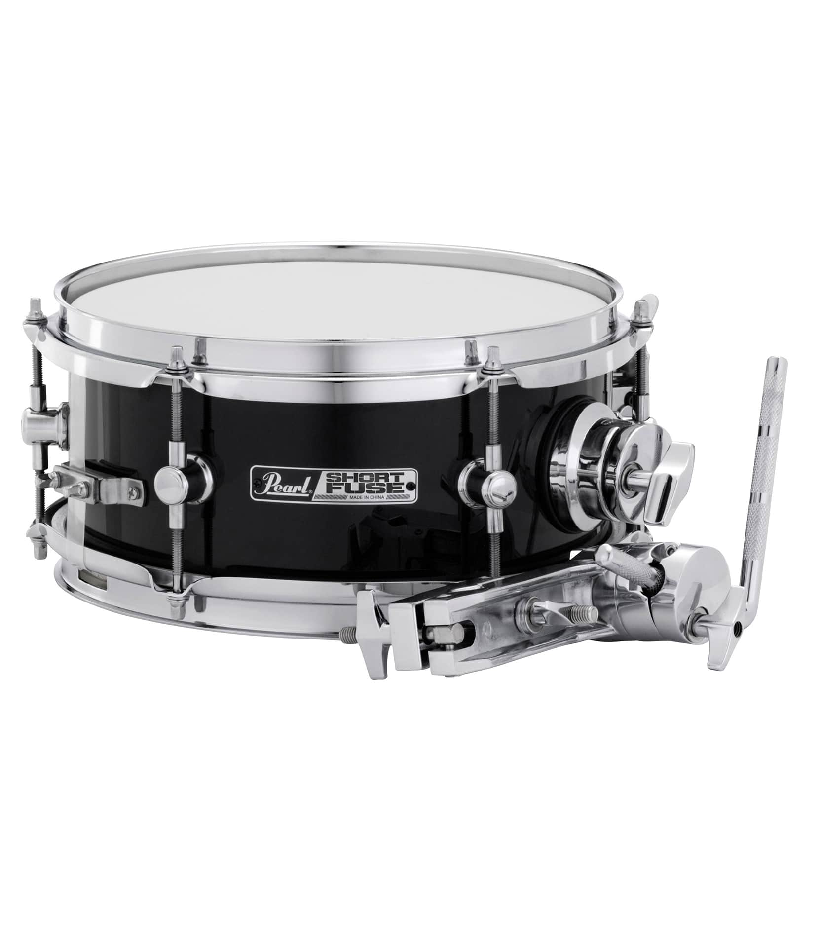 buy pearl sfs10 c short fuse 10 x 4 5 snare drum black