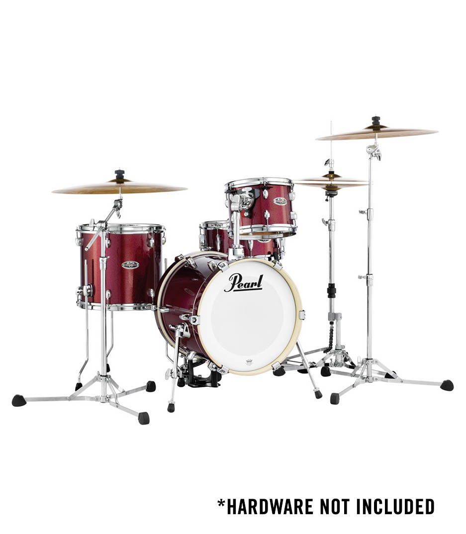 buy pearl mdt764 midtown 4pc shell black cherry glitter