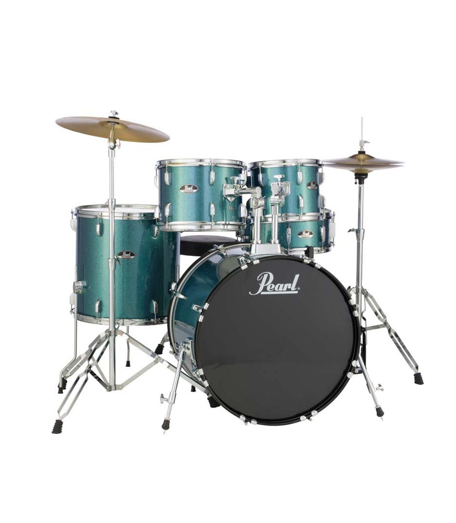 Pearl - Road Show 5pc kit w Hardware Cymbals Aqua Blue