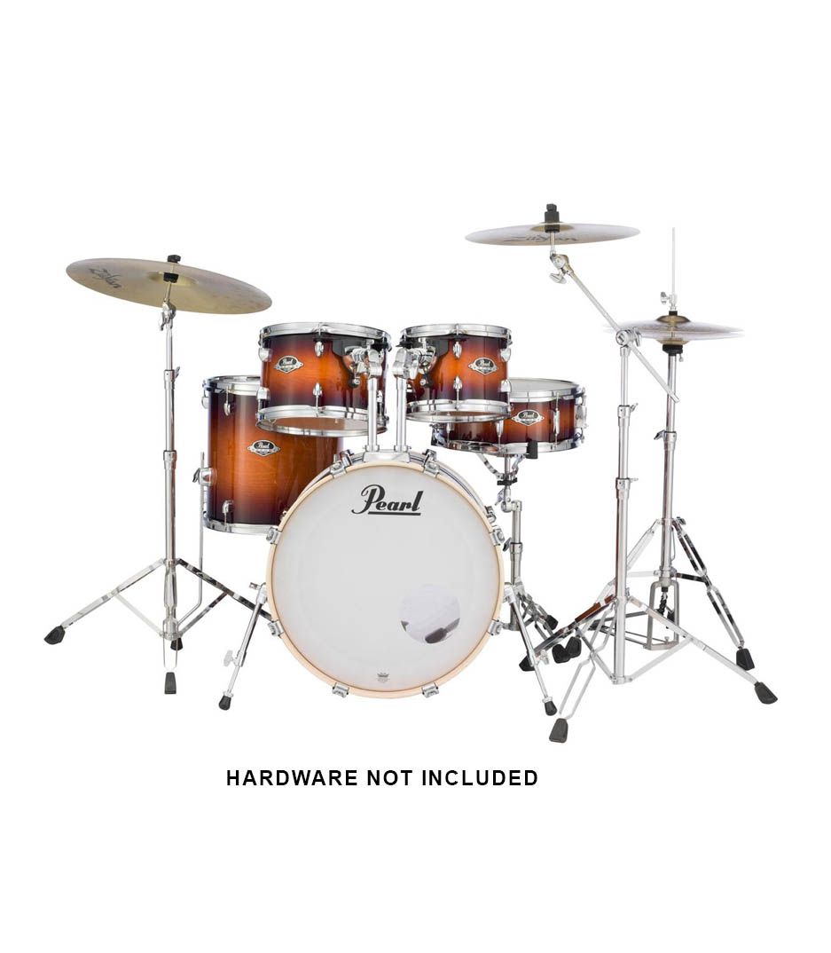 Pearl - Export Lacquer 5pcs Gloss Tobacco Burst Finish