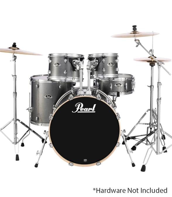 buy pearl export fusion 5pc drum set grindstone sparkle