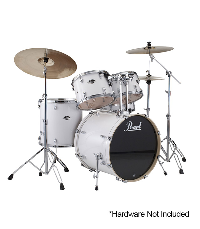 Buy Pearl Export Standard 5pc Drums Set Pure White Finish Melody House