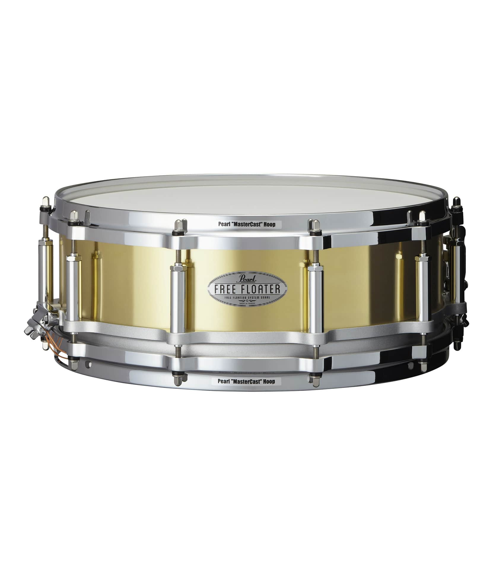 buy pearl ftbr1450 14 x 5 inches free floater snare drum