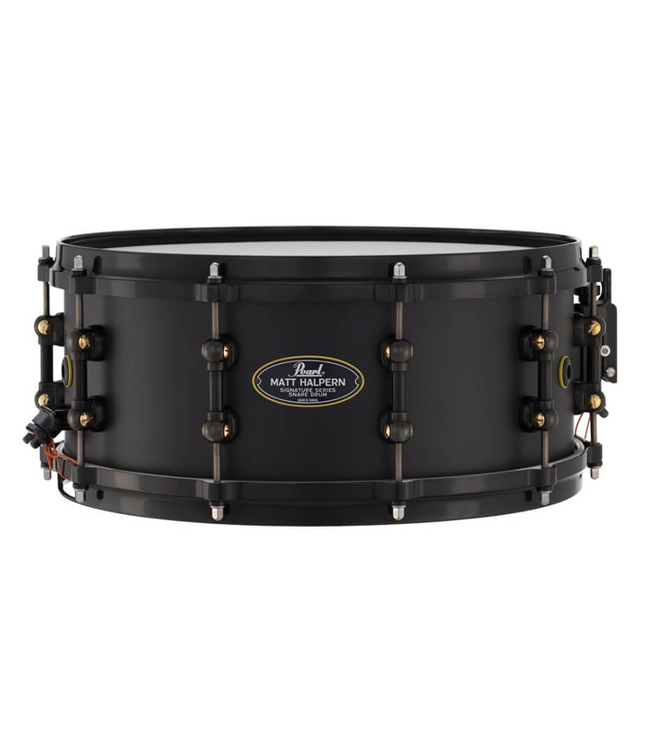 buy pearl mh1460 b matt halpern 14  6 signature snare