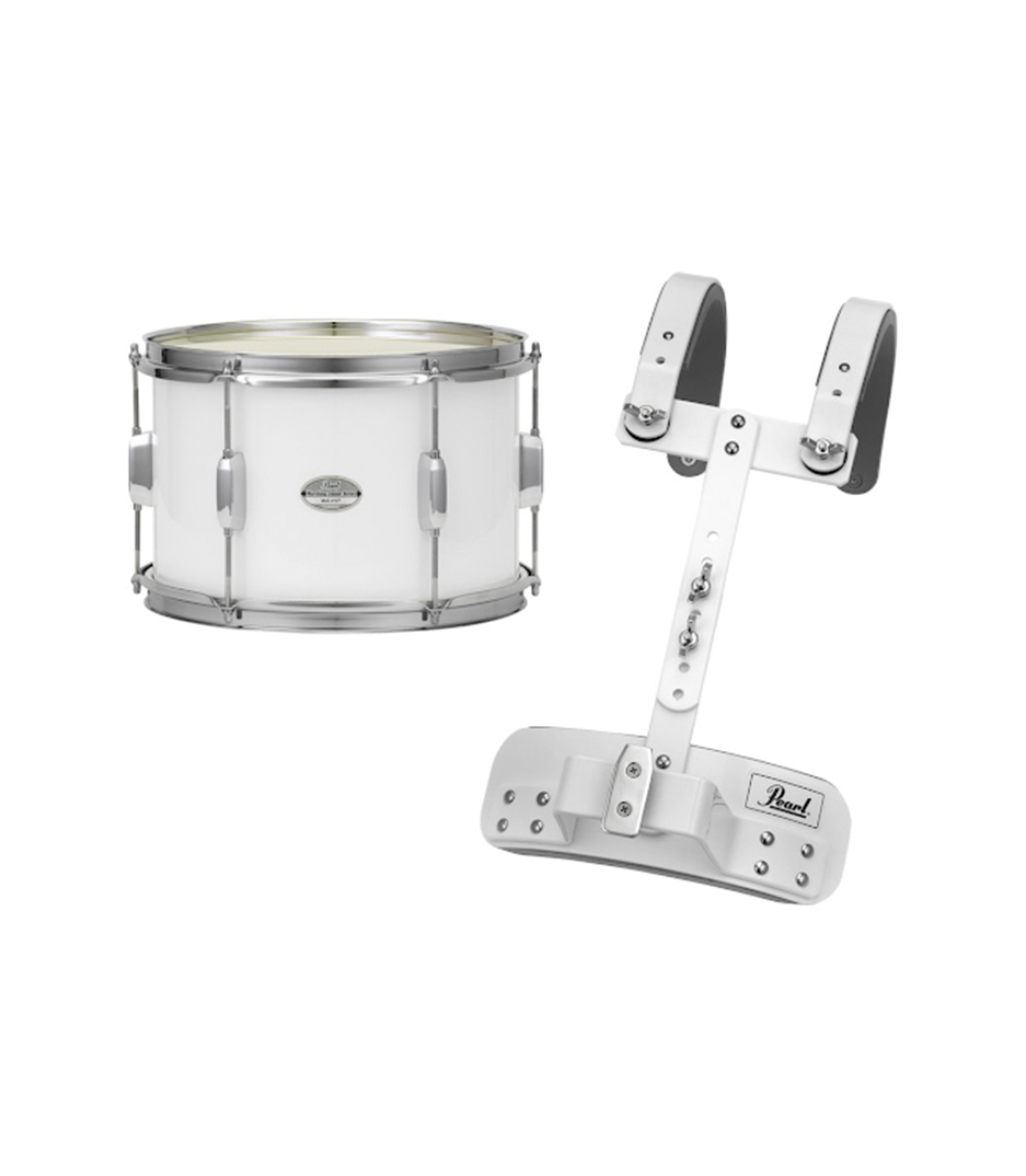 Pearl - Junior Series Tenor Drum wMCH20S Carrier Pure Whit