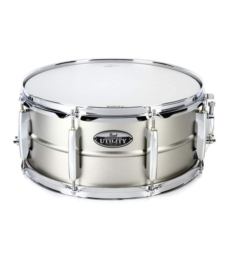 Pearl - 14 X 6.5 MODERN UTILITY STEEL SNARE DRUM - Melody House Musical Instruments
