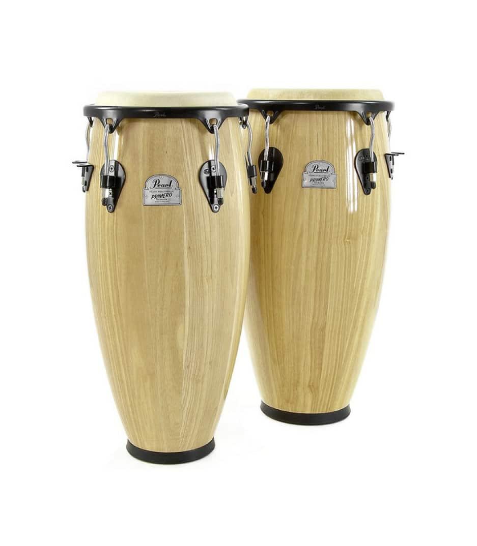 Buy pearl Primero Wood Conga Set 10 11 Natural Finish Melody House