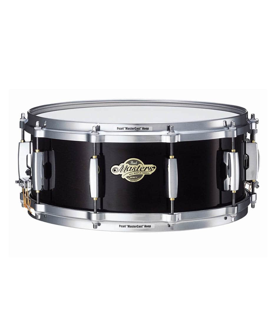 Buy pearl Master Maple Premium 14 x 5.5 Snare Black Finish Melody House