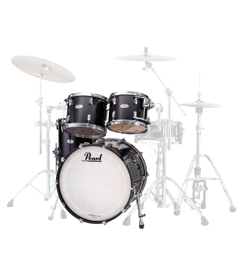 buy pearl reference 4pc shell piano black finish