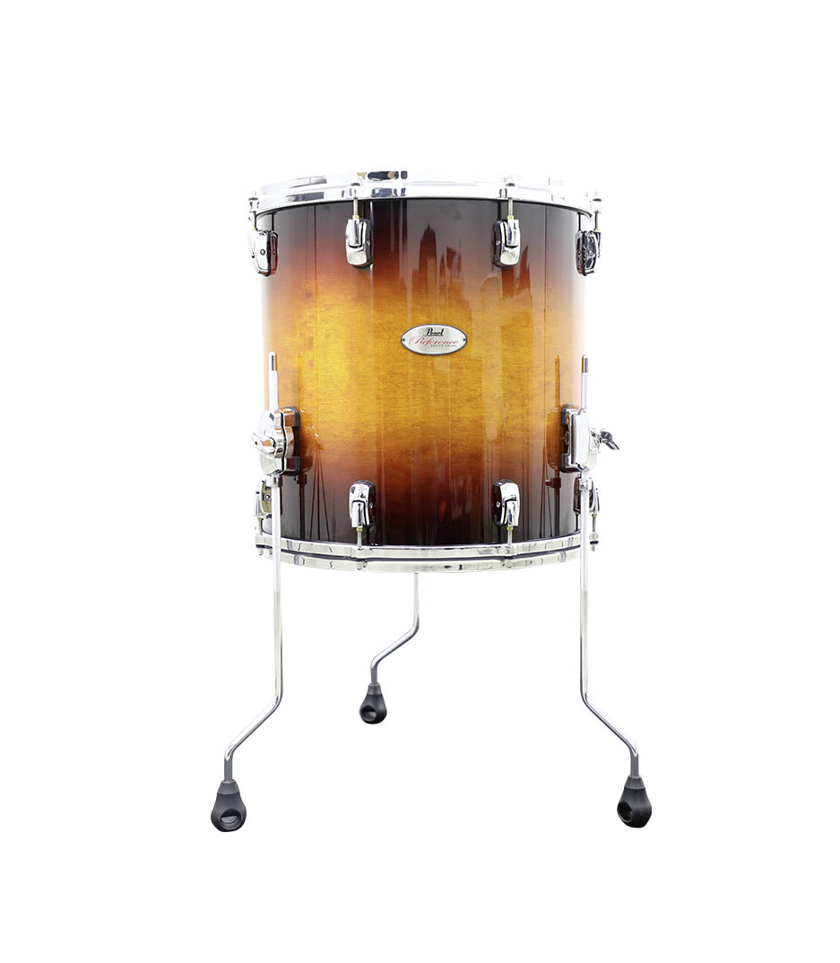 buy pearl reference 16 x 16 floor tom vintage tobacco burst