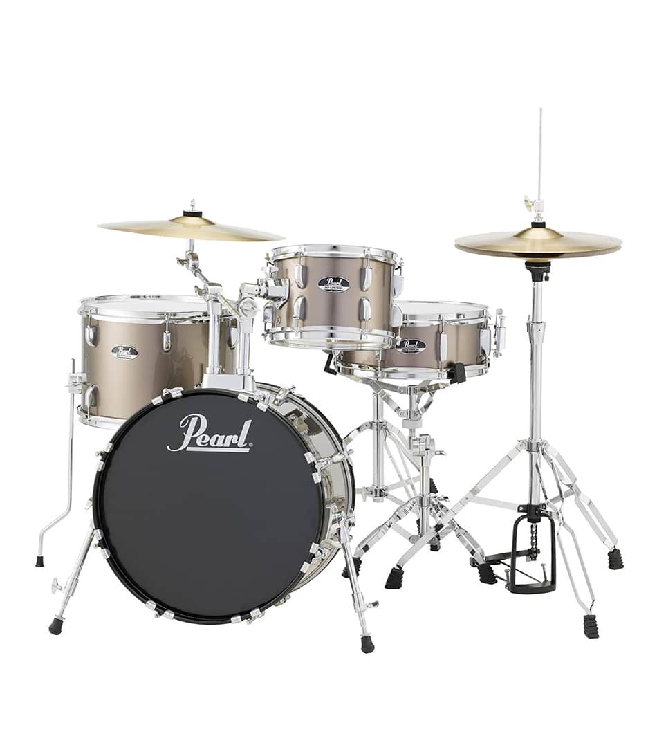 Buy Pearl Road Show 4pc kit Hardware & Cymbals Bronze Metal Melody House