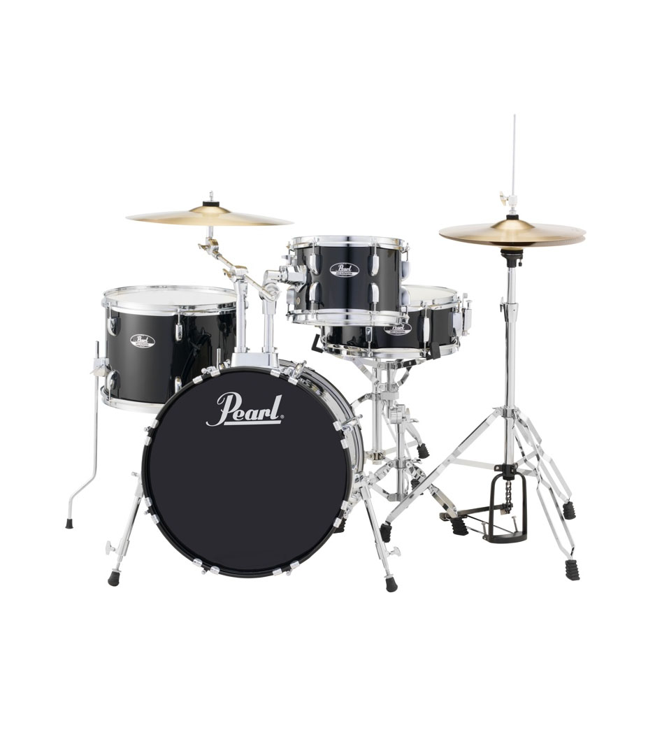 Pearl - Road Show 4pc kit w Hardware Cymbals Jet Black