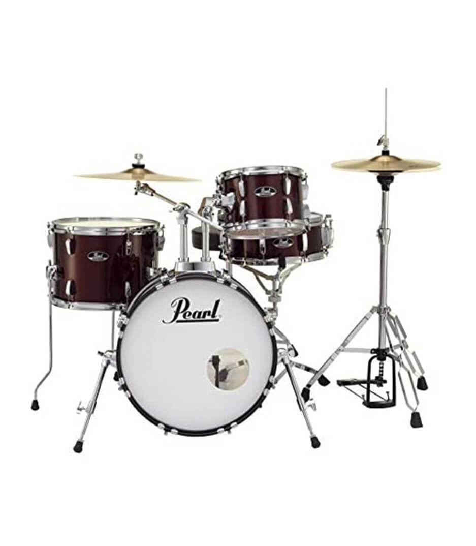 pearl - Road Show 4pc kit w Hardware Cymbals Red Wine - Melody House Musical Instruments