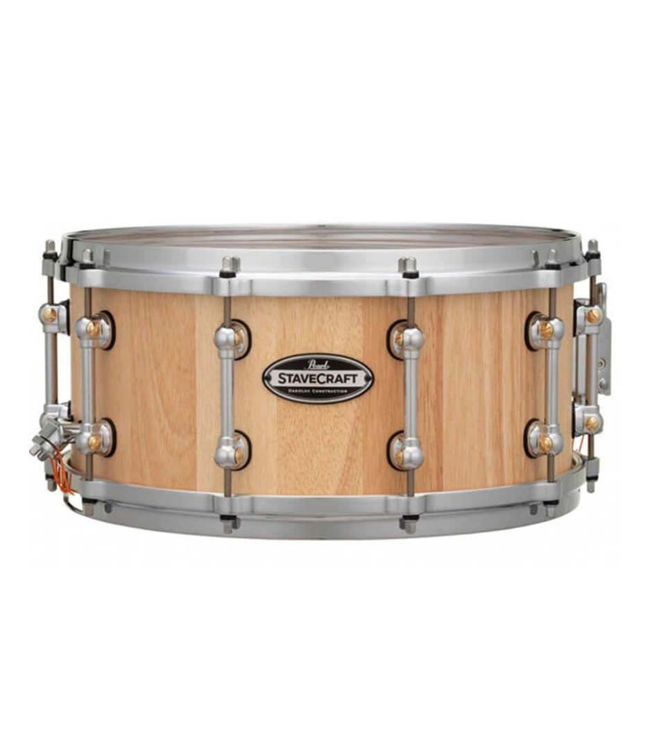 buy pearl scd1465to stavecraft 14x65 thai oak snare drum