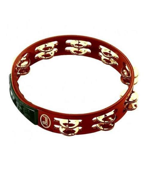 buy pearl pth 10b 10 headless wood tambourine stainless