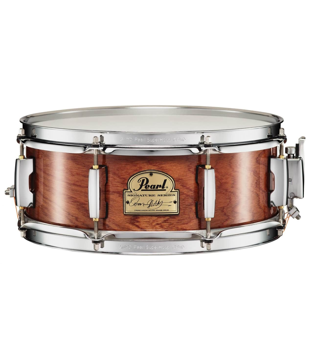 Pearl - OH1350 140 Omar Hakim 13x5 0 snare drum - Melody House Musical Instruments