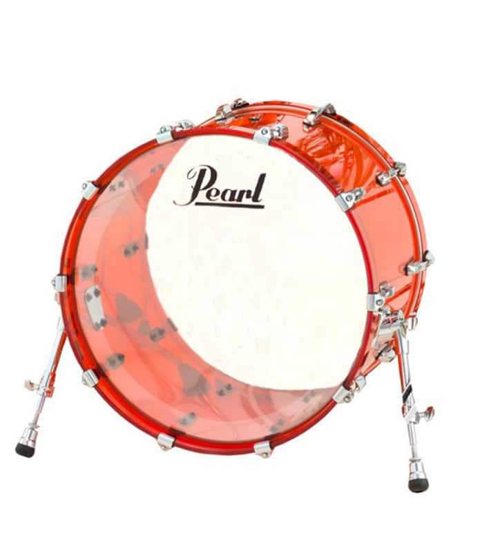 buy pearl crb2216bx c 731 22x16 crystal beat bass drum