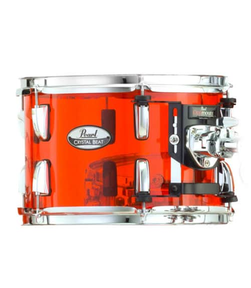 Buy Pearl CRB1208T 731 12x8 Crystal Beat Tom w OptiMount Melody House