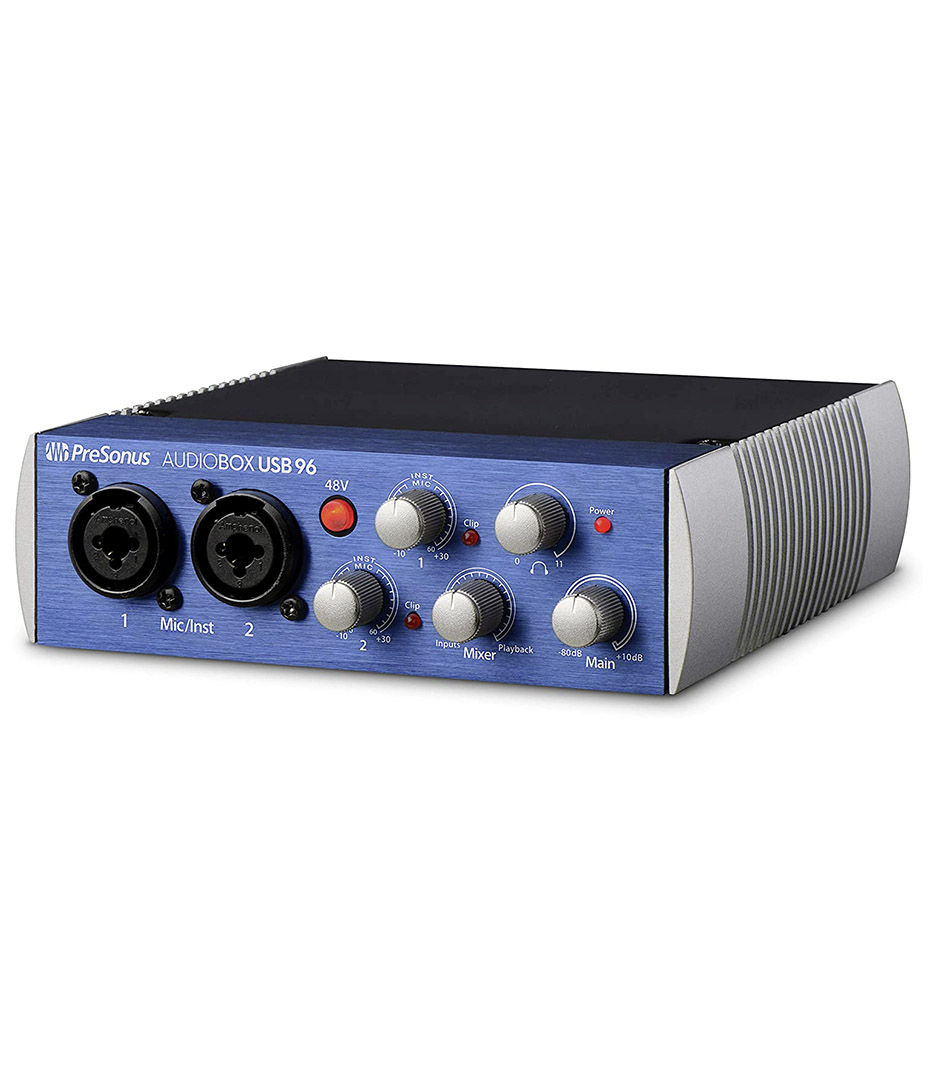 PreSonus - AudioBox USB 96 - Melody House Musical Instruments