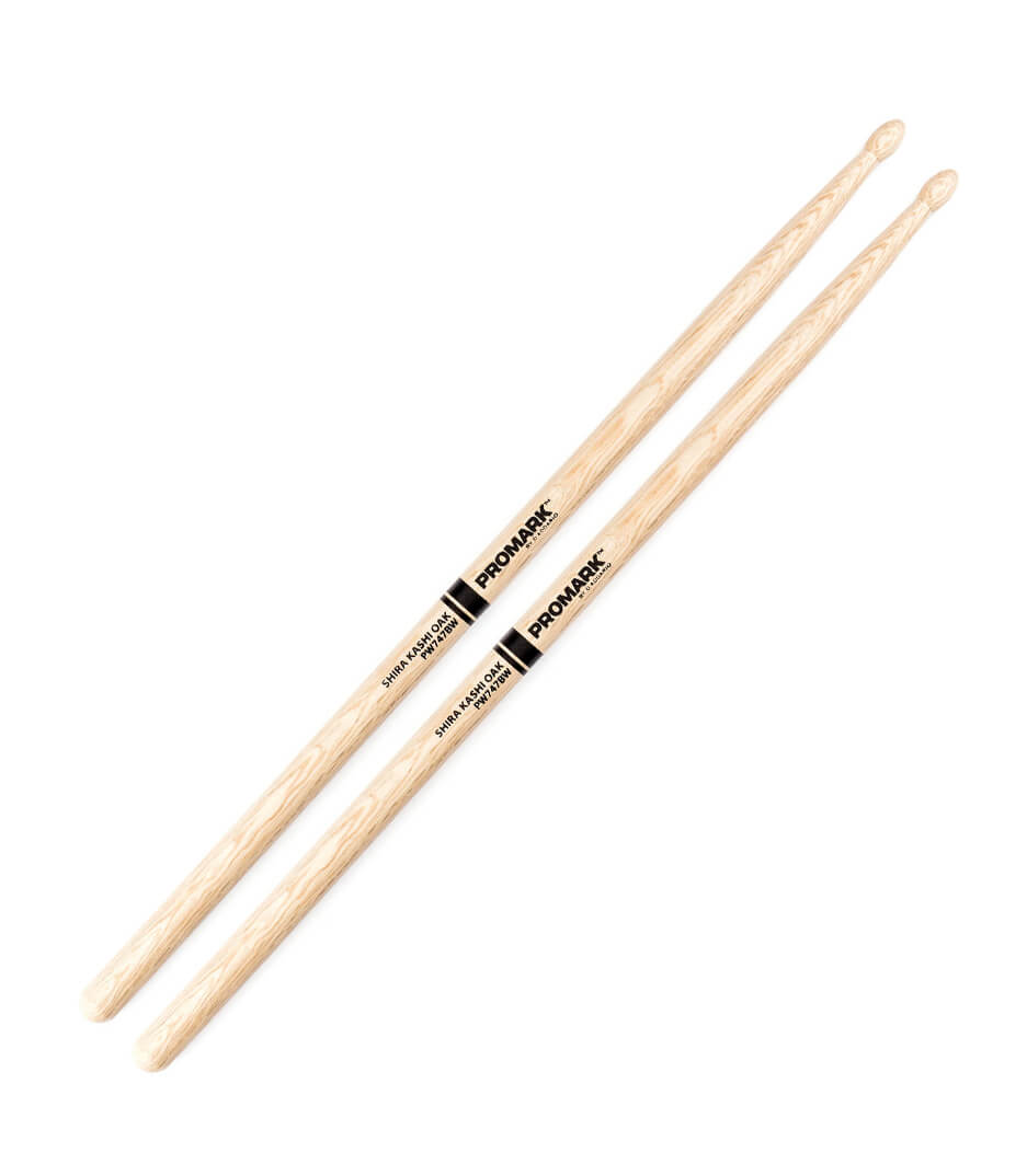 buy promark pw747bw shira kashi oak drumstick japanese oak