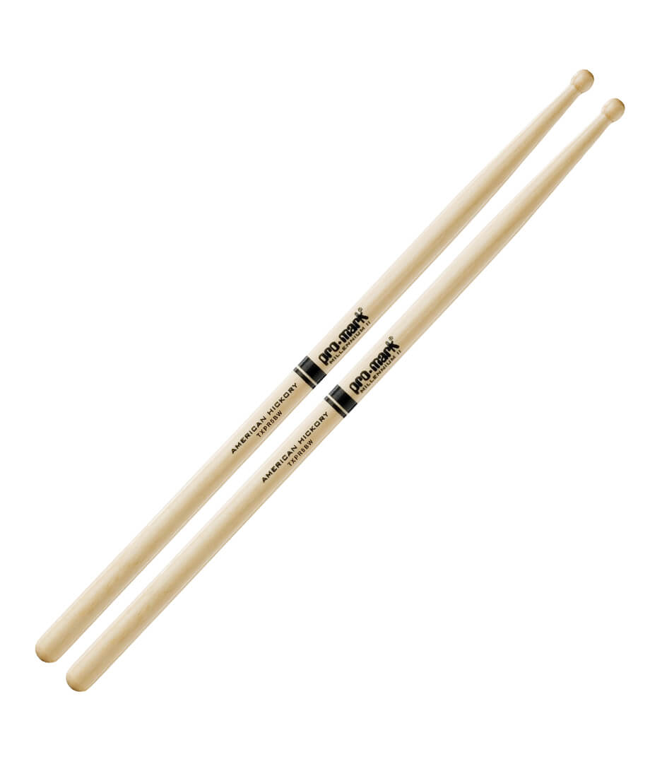 Promark - TXPR5BW AMERICAN HICKORY PRO ROUND DRUMSTICK