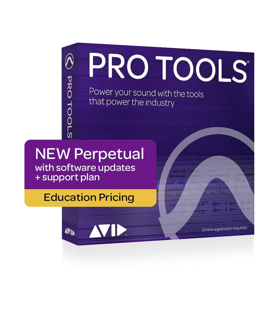Avid ProTools - 9938 30001 20 Pro Tools Perpetual License NEW Educ - Melody House Musical Instruments