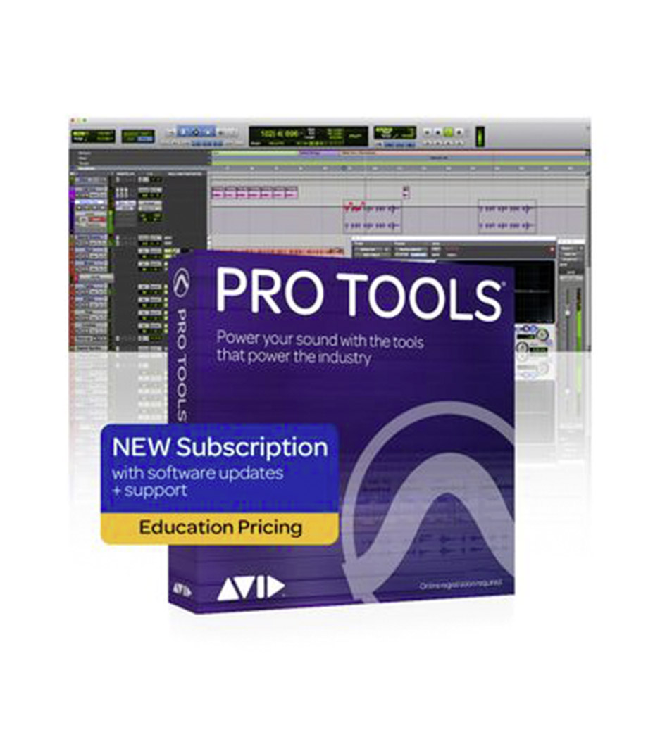 Avid ProTools - 9938 30001 60 Pro Tools 1 Year Subscription NEW Ed - Melody House Musical Instruments