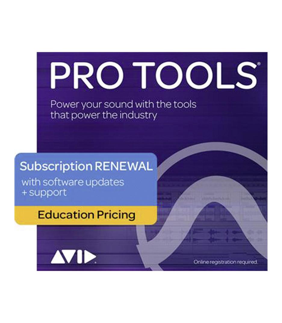 buy avidprotools 9938 30003 60 pro tools 1 year subscription renewa